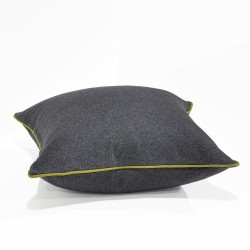 Augustus Armour/Turmeric Floor Cushion - 60x60cm