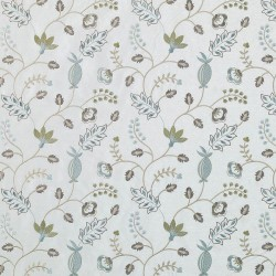 Natural/Aqua Veranda Embroideries