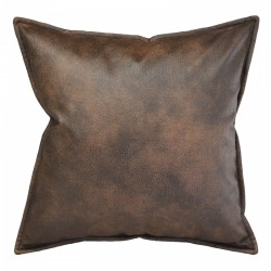 Eastwood Bison Cushion with Flange - 45x45cm