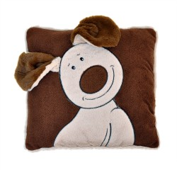Happy Dog Cushion 30cm