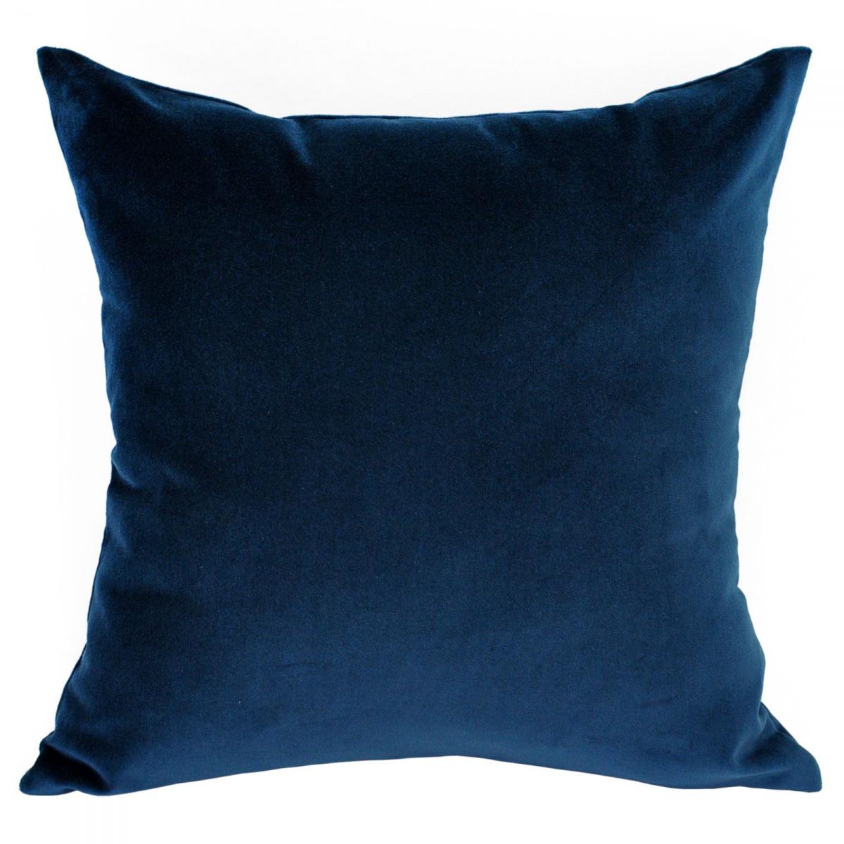 Medium Velvet Navy Cushion 50x50cm Hupper
