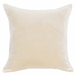 Mystere Butternut Velvet Cushion - 45x45cm