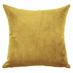 Mystere Gold Velvet Cushion - 45x45cm