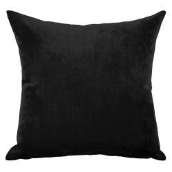 Mystere Ebony Velvet Cushion - 45x45cm