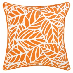 Tulum Melon Outdoor Cushion with Piping - 45x45cm