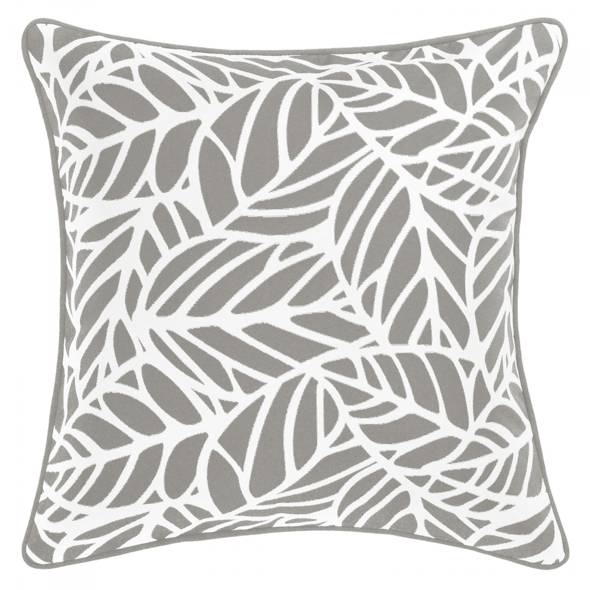 Tulum Pumice Outdoor Cushion with Piping - 45x45cm