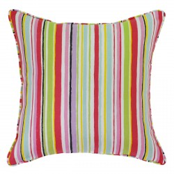 Ripley Pink Cushion with Piping - 45x45cm