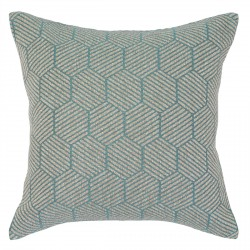 Buxton Teal Cushion - 45x45cm