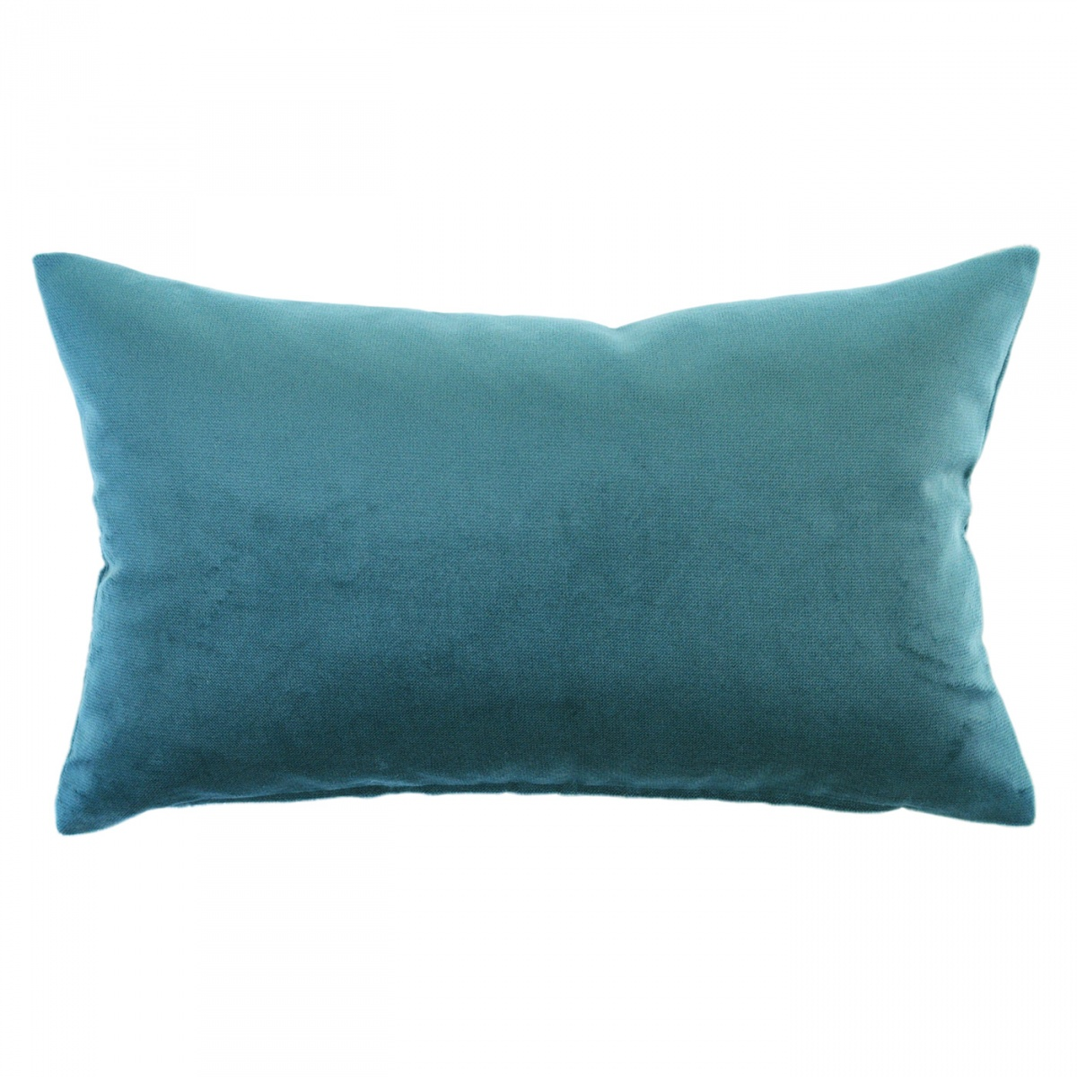 Mystere Peacock Velvet Cushion - 30x50cm