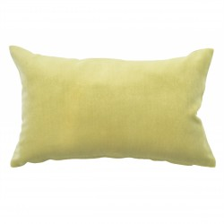 Mystere Citrine Velvet Cushion - 30x50cm