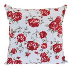 Red Rose Cushion - 45x45cm
