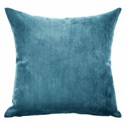 Mystere Peacock Velvet Cushion - 55x55cm