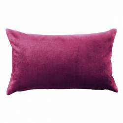 Mystere Boysenberry Velvet Cushion - 30x50cm