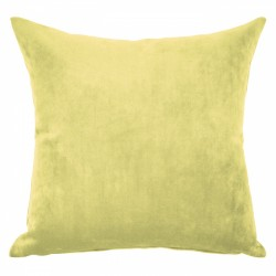 Mystere Citrine Velvet Cushion - 50x50cm