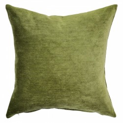 Victory Leaf Velvet Cushion - 45x45cm