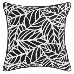 Tulum Ash Outdoor Cushion with Piping - 45x45cm