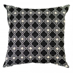 Ashby Black Cushion - 45x45cm
