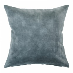 Lovely Aqua Velvet Cushion - 45x45cm