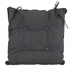 Linen Grey Chair Cushion 45x45cm