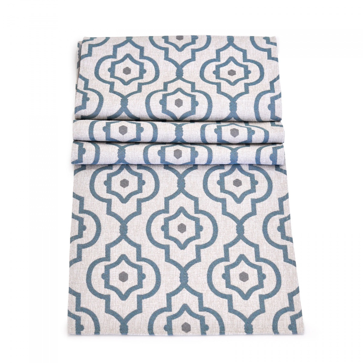 135x35cm Mendoza Turquoise Table Runner