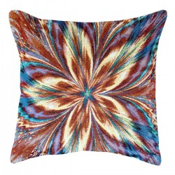 Rainbow Tapestry Cushion 50x50cm