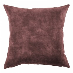 Lovely Oxblood Velvet Cushion - 40x40cm