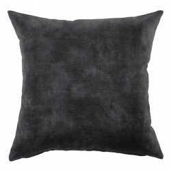 Lovely Coal Velvet Cushion - 60x60cm