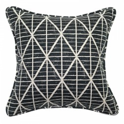 Mala Black Cushion - 45x45cm