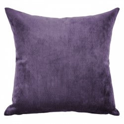 Mystere Purple Velvet Cushion - 55x55cm