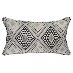 Aditi Black Cushion - 30x50cm
