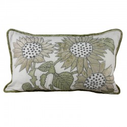 Miami Flowers Cushion - 30x50cm