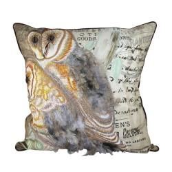 Exotic Owls Cushion - 45x45cm