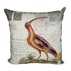 Exotic Bird Cushion - 45x45cm