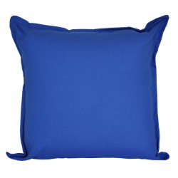 Cotton Duck Navy Blue Cushion - 45x45cm