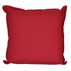 Cotton Duck Red Cushion - 45x45cm