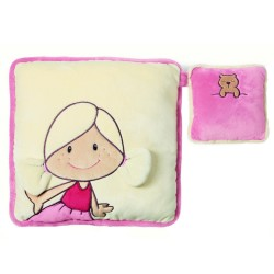 NICI Minilina & Little Bear Cushion 33x33cm