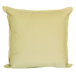 Cotton Duck Beige Cushion - 45x45cm