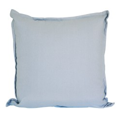 Cotton Duck Grey Cushion - 45x45cm