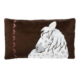 NICI Dapple Grey Horse Rectangular Cushion 43x25cm