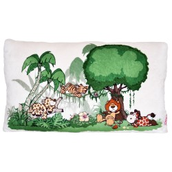 NICI Wild Friends Rectangular Cushion 43x25cm