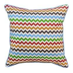 Forest Chevron Cushion - 45x45cm