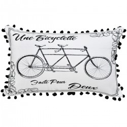 Bicyclette Cushion - 30x50cm