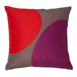Blot Orchid Cushion - 45x45cm