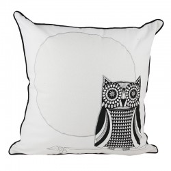 Owl on Branch Cushion - 45x45cm