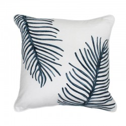 Malibu Fern Grey Cushion - 45x45cm