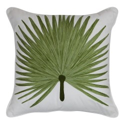 Malibu Palm Green Cushion - 45x45cm
