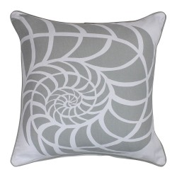 Sea Shell Grey Cushion - 45x45cm