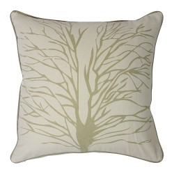 Tree Of Hope Taupe Cushion - 45x45cm