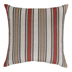 Morgan Stripe Nile Denton Cushion - 45x45cm