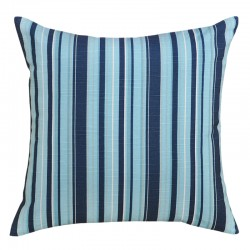 Stripe Slub Navy Cushion 45x45cm